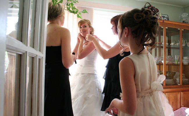 Marg Seregelyi wedding